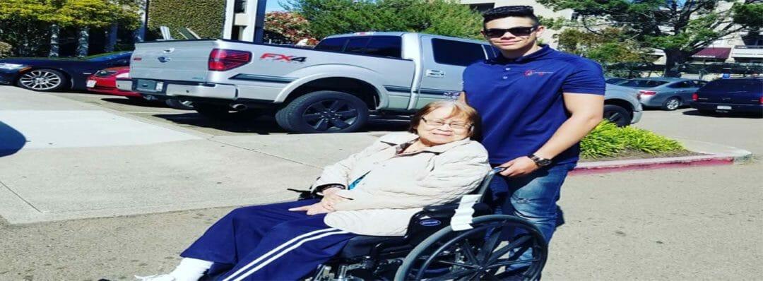 Handicap transportation, wheelchair transport